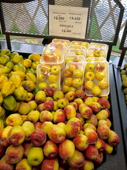 Яблоки Колумбии
