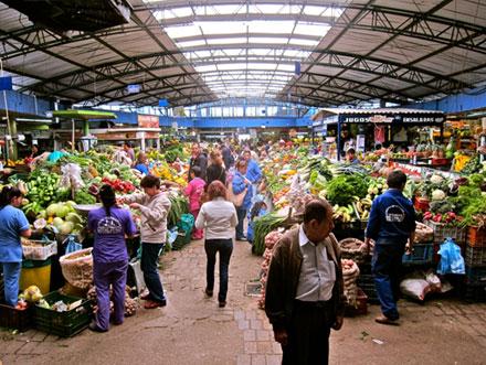 Рынок в Боготе