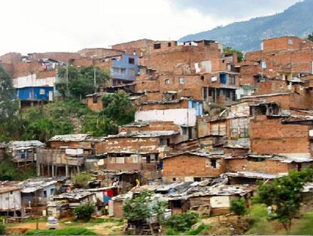 Трущобы Боготы